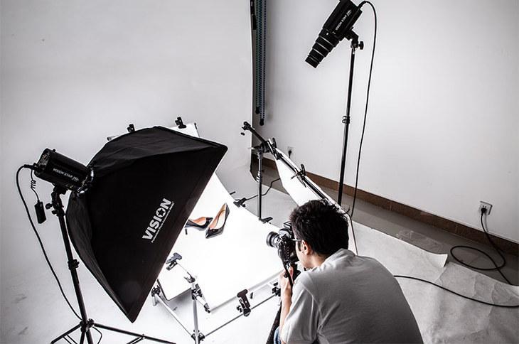 鑫威森摄影布光指导6 [漆皮高跟鞋拍摄]图片