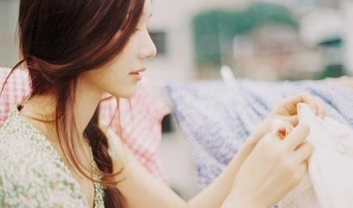 正确洗脸做个素颜美女