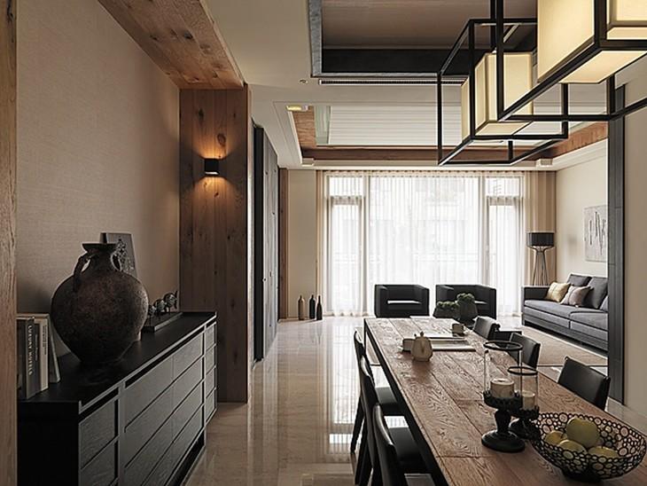 50平一室两厅复式装修