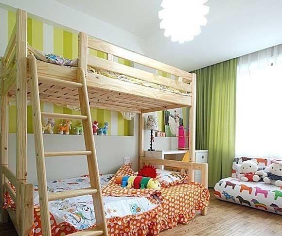 11款上下床儿童房设计参考
