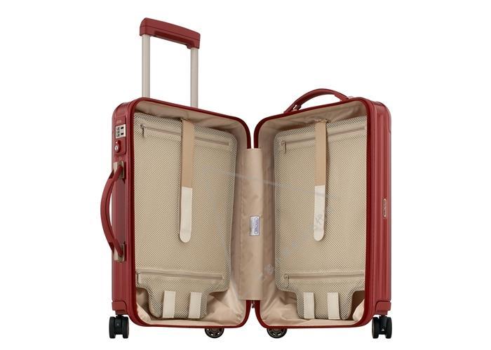 rimowa 日默瓦拉杆箱 旅行箱酒红色20寸