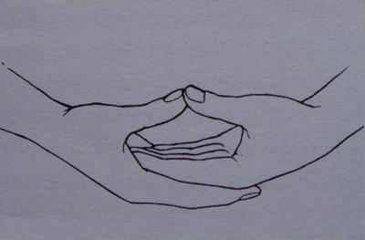 幼儿小手印简笔画