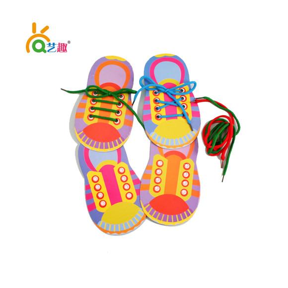 我会系鞋带单个装 - 艺趣幼儿手工