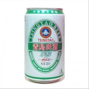 青岛啤酒易拉罐330ml冰醇