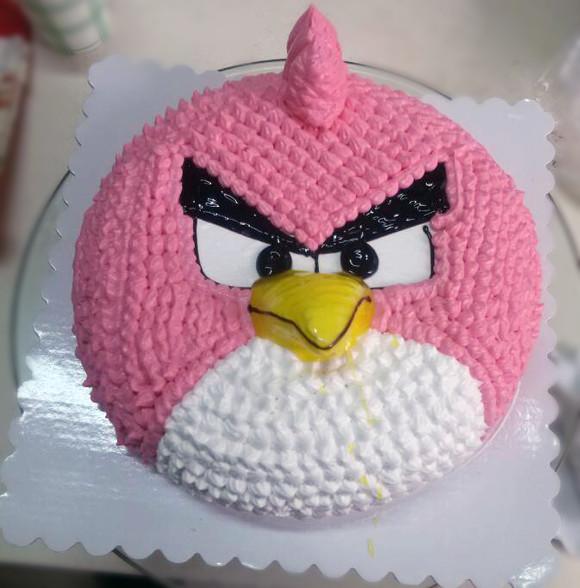 愤怒小鸟蛋糕 - 糕乐高(蛋糕