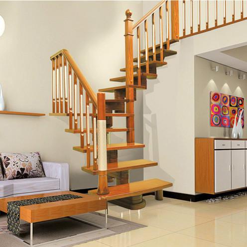 木缘尚品木楼梯 复式楼梯