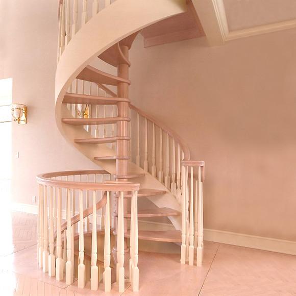 楼梯实木楼梯 室内梯 旋转楼梯弧型梯