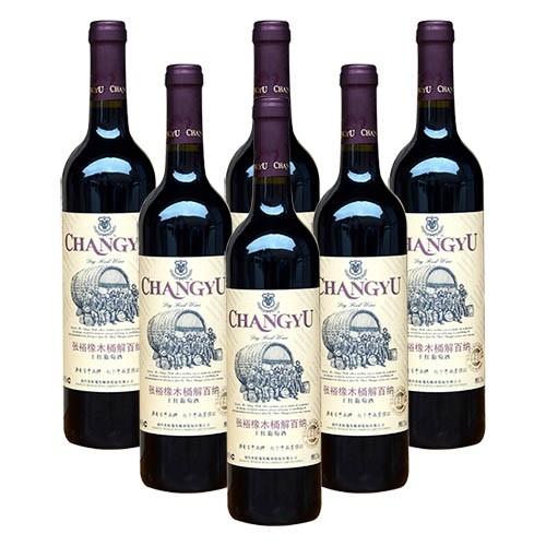 张裕橡木桶干红葡萄酒(优选级)全国免邮