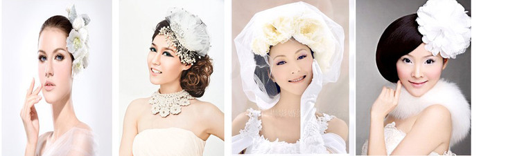 第五阶段 数码影楼新娘妆整体化妆造型分为