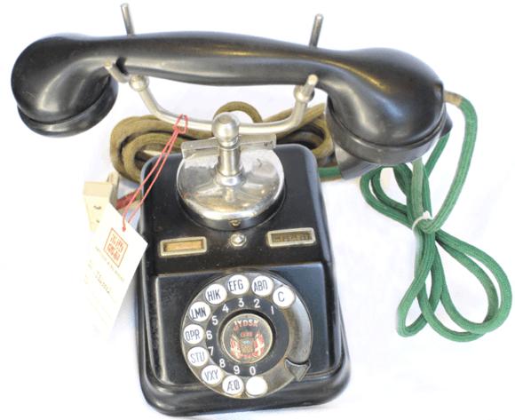 复古转盘电话机