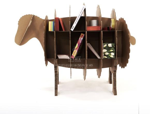 落地柜装饰柜动物书架