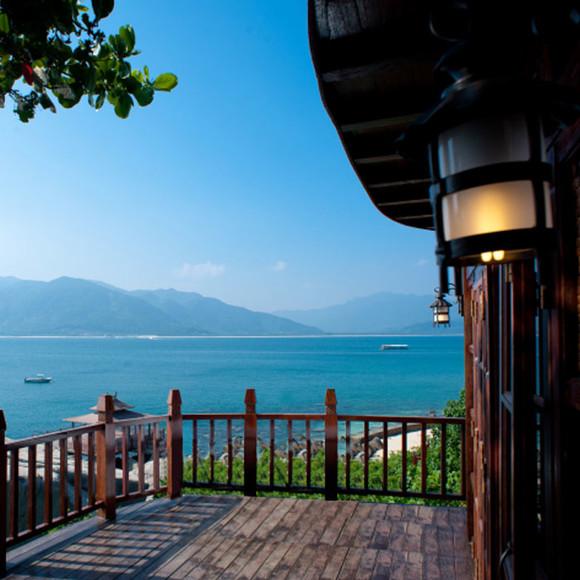 三亚分界洲岛自由行 分界洲岛海钓会所情侣酒店住宿