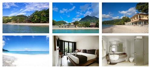 珊瑚海岸酒店是马埃岛一家四星级酒店,坐落在岛上最美丽的布法隆