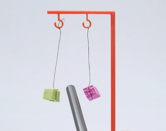 儿童科技小制作少年宫培训材料科学小发明小实验静电创意益智玩具
