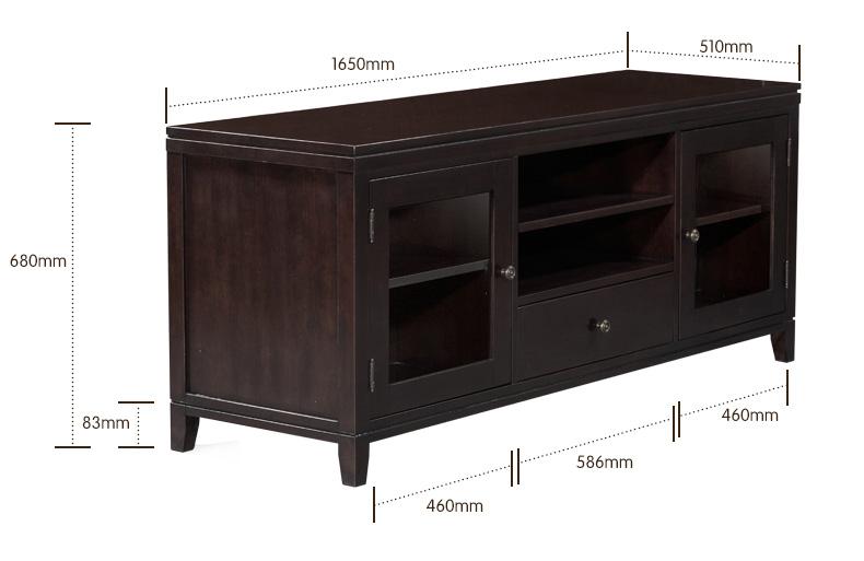 至爱诚家美式现代简约客厅实木电视柜组合欧式电视新