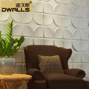 欧式3d立体浮雕墙纸女装店墙衣电视背景