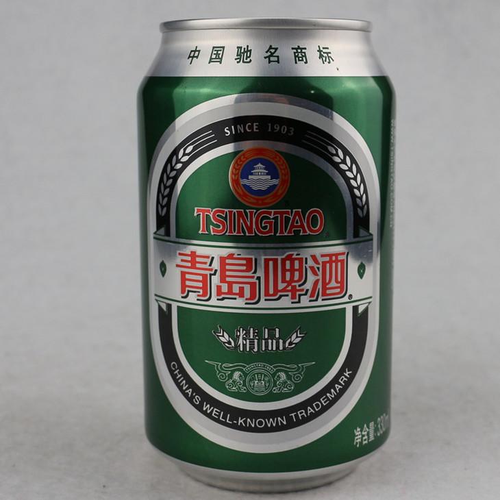 青岛 精品 罐装啤酒