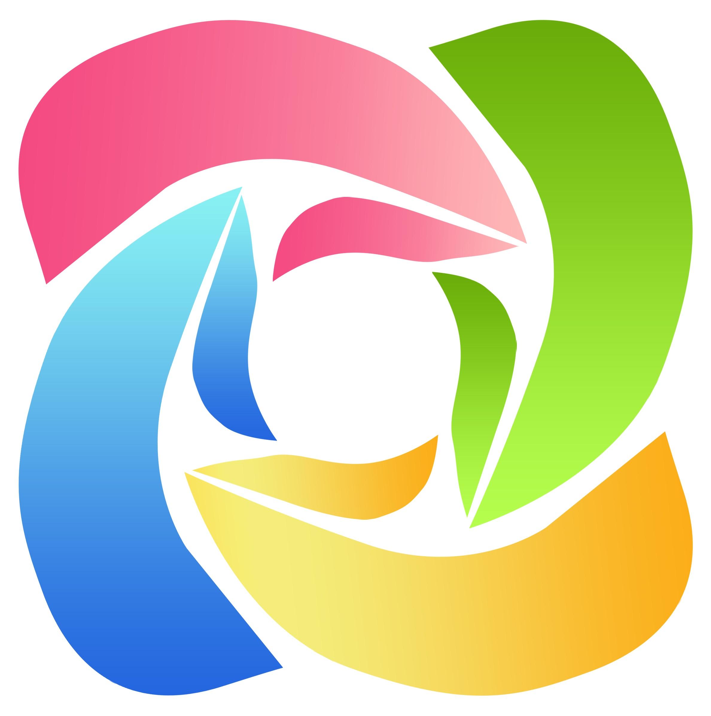 微信logo图标简笔画