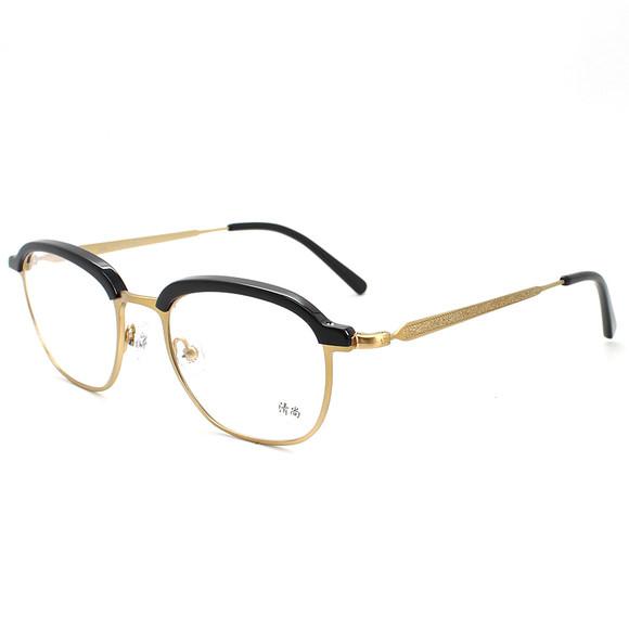 香港设计师手工复古潮牌近视镜框眼镜