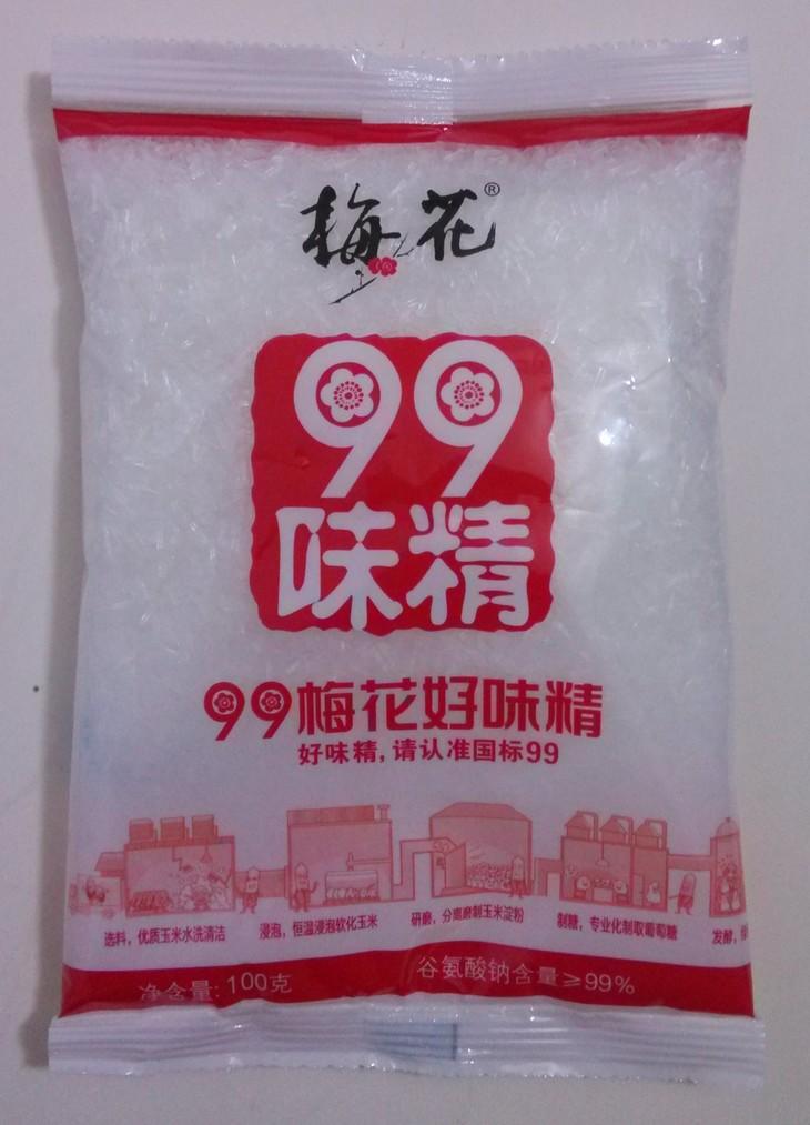 99梅花味精100克