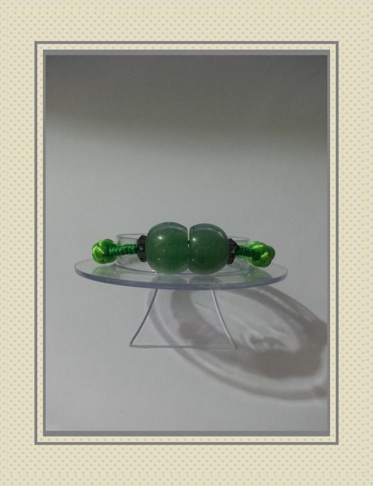 原创玉石串珠编织手链手环手绳(a-23)