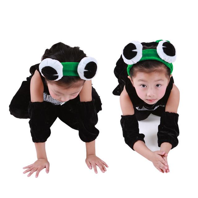 小蝌蚪儿童动物造型服装 儿童舞台剧演出
