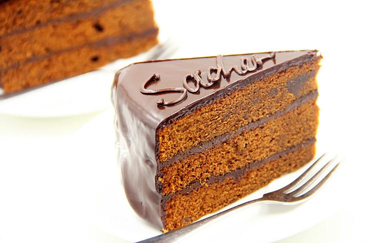 卡梅尔法式甜点手工沙哈巧克力蛋糕西式点心下午茶聚会法国派对图片