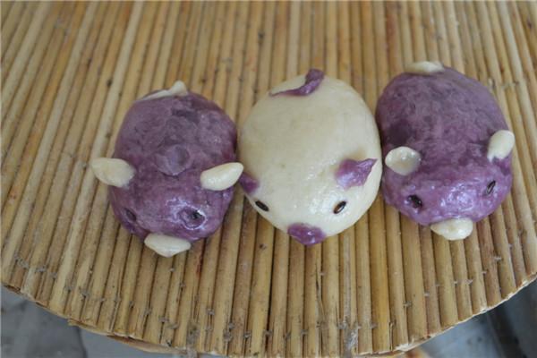 山间别薯有机早餐面点 紫薯小猪 紫薯小刺猬 小朋友主食 有机早餐