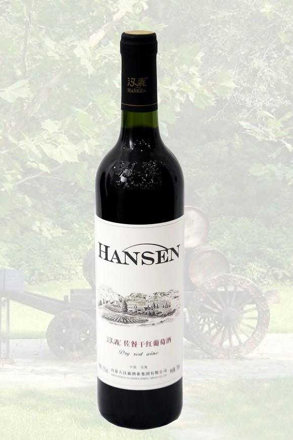 汉森--佐餐干红葡萄酒图片