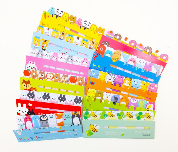 【乐天蜂】韩国维塔斯小动物n次贴丨即时贴 便签贴丨儿童手工diy