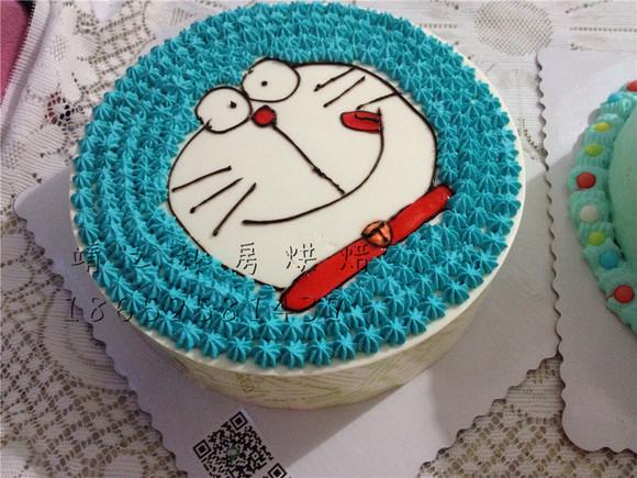 手绘蛋糕 - 靖之私房烘焙