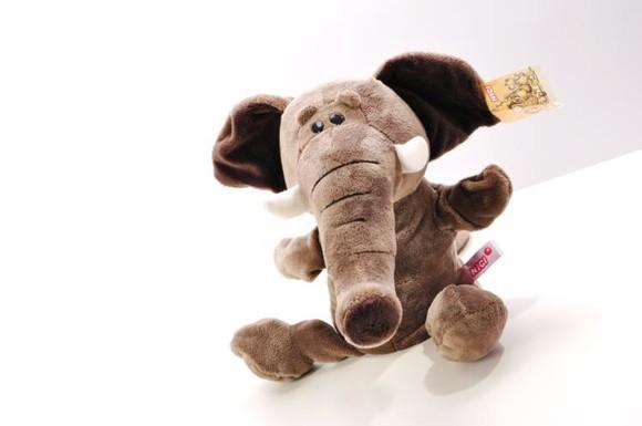 手偶动物系列毛绒玩具