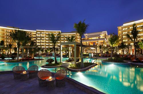 2,免费尊享三亚湾红树林度假世界酒店私家海滩,奢华园林,儿童乐园