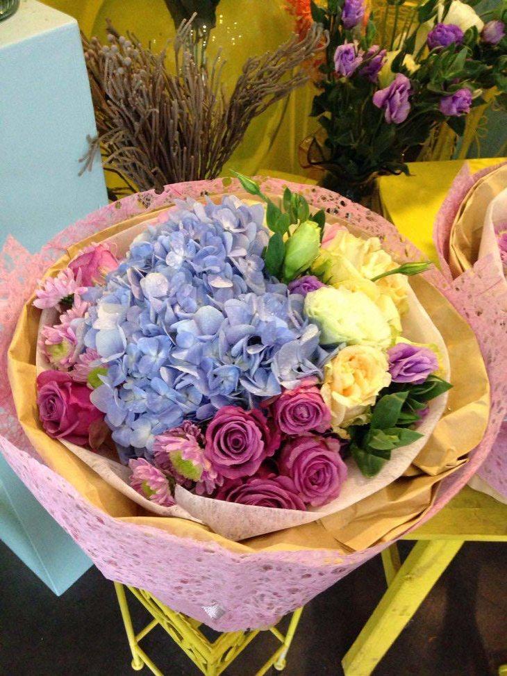 韩式小花束图片