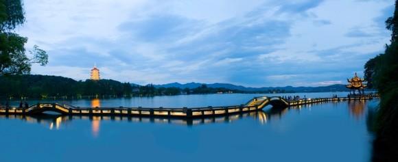 乌镇,杭州西湖,孤山赏梅,宋城二日