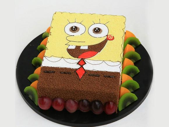 10寸和12寸的卡通生日蛋糕