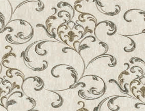 欧式卷叶草图样适合新古典风格