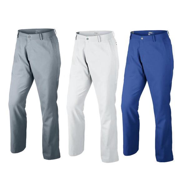 高尔夫长裤男 nikegolf耐克高尔夫球服装 正品 梭织快速排汗裤子