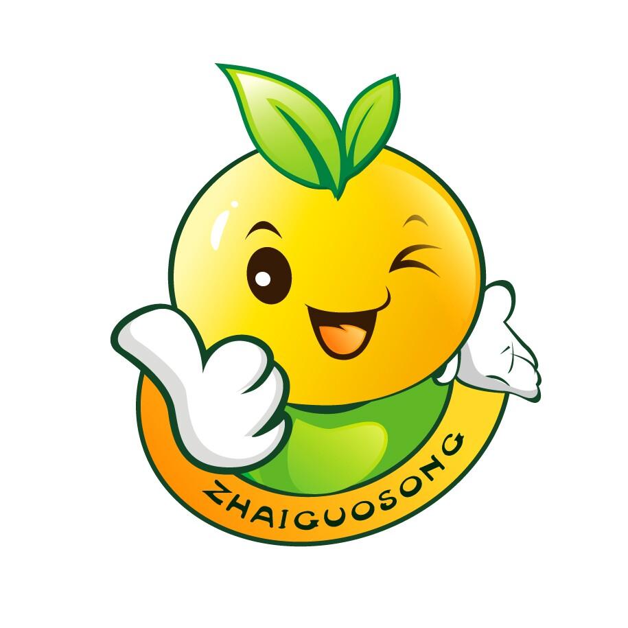 可爱水果logo