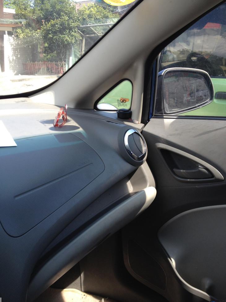 雪佛兰新赛欧汽车音响升级改装弗雷德套装喇叭作业