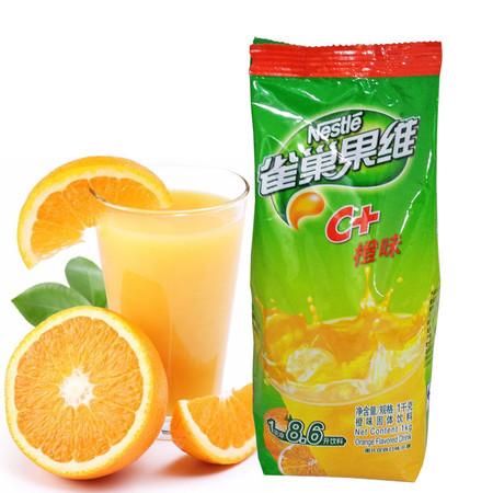 雀巢果维c 橙味