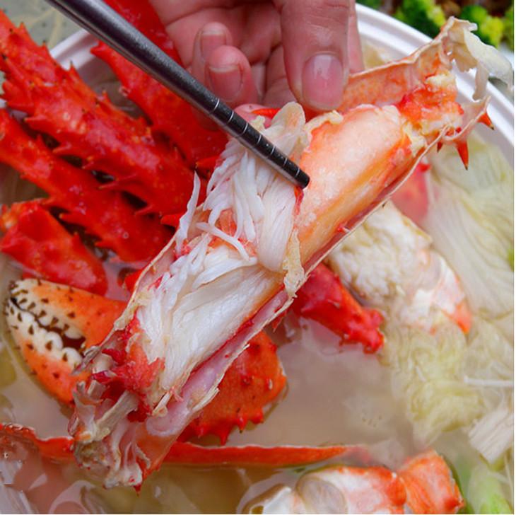 为什么帝王蟹只能吃腿?壳里面的肉不能吃吗?看完后恍然大悟!