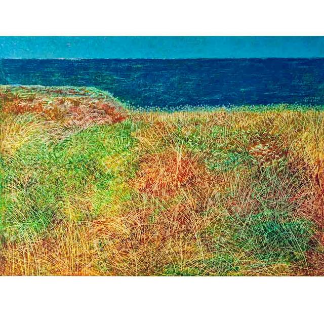 【海邊】限量簽字 數碼版畫 藝術家王苗