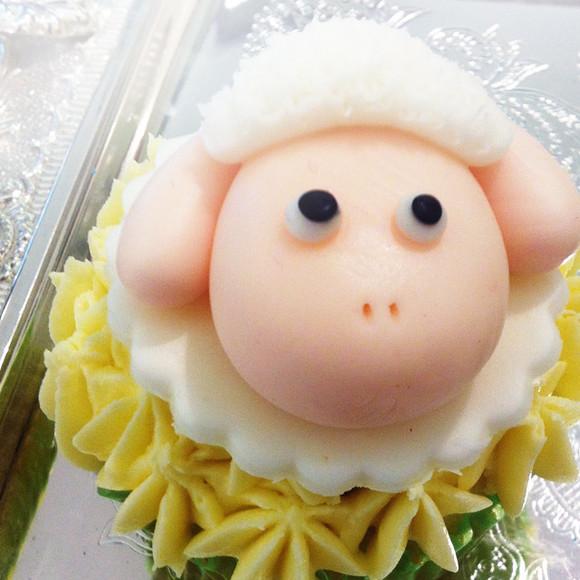 可爱小羊 - cupyme纸杯蛋糕