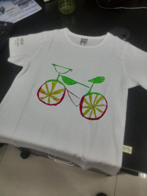 【包邮】儿童创意手绘体恤