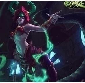 自动 英雄联盟lol 永久限定皮肤碧玉之牙 卡西奥佩娅魔蛇之拥蛇女.