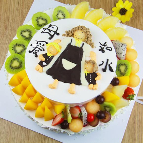 妈妈生日蛋糕_送男友妈妈生日蛋糕图片,特别一点的