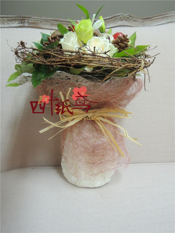 创意原生态花束图片