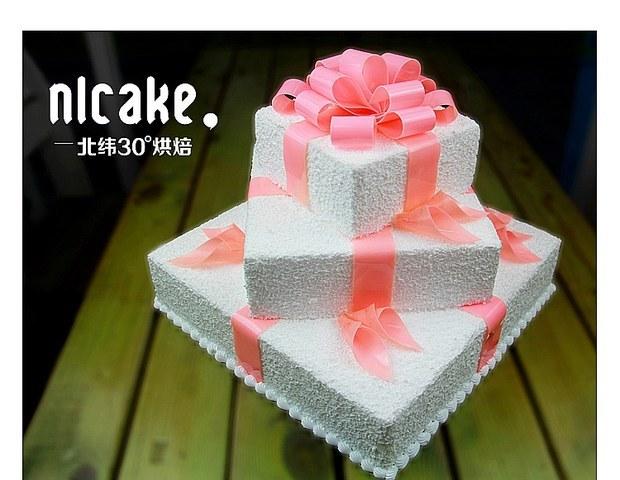 欧式婚礼聚会生日蛋糕奶油豪华