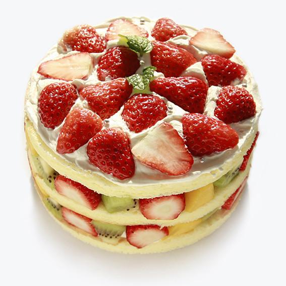 2017新款水果蛋糕圖片